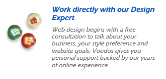 work directly with our design expert