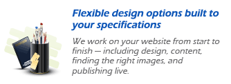flexible design options build to your specifications